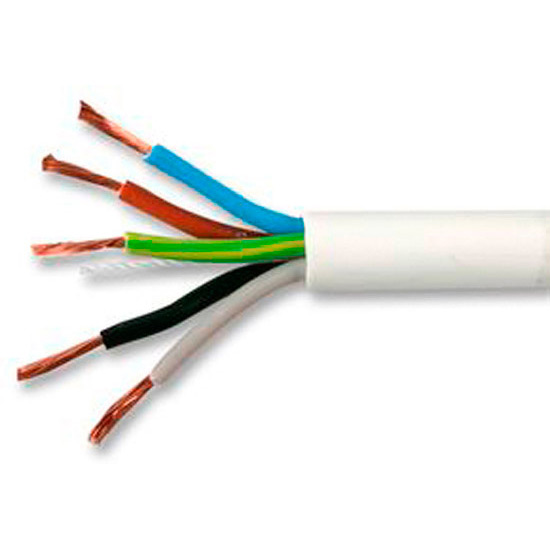 Pvc Class 5 Cable : Buy mm core white flex y online from websparky
