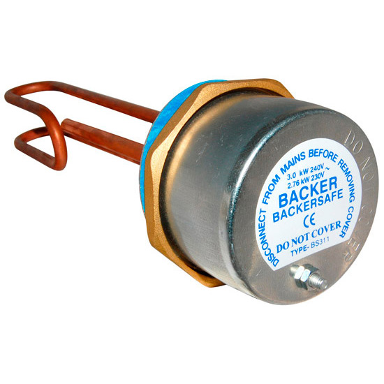 buy backer 11 inch immersion heater with thermostat backersafe, Wiring diagram