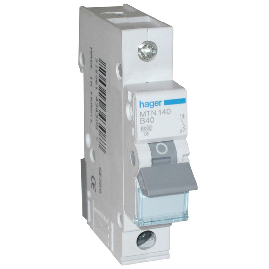 buy hager 40 amp mcb  online from websparky